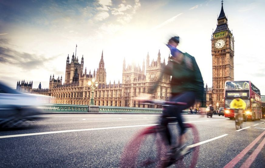 Bikes and buses