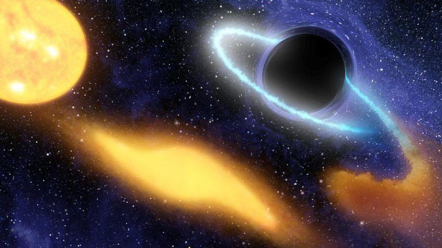 Черная дыра (художественное представление)