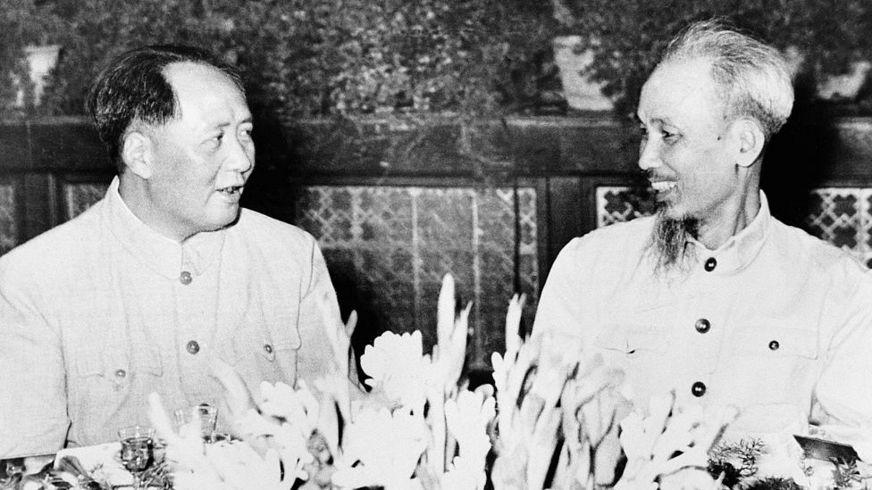 Mao Trạch Đông và Hồ Chí Minh