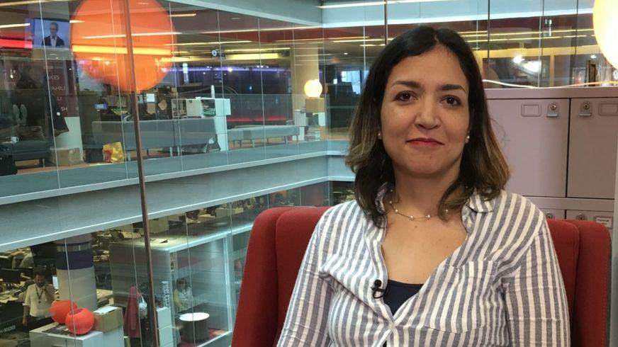 Nhà báo Karenina Velandia của BBC Mundo