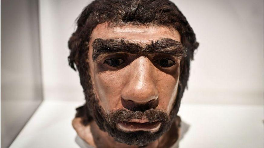 Мужчина-неандерталец