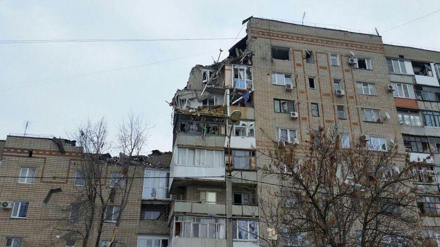 пострадавший дом