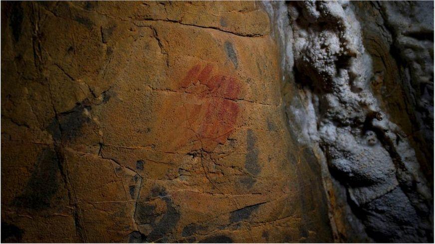 Настенные рисунки в испанских пещерах
