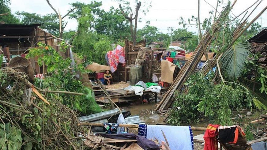 缅甸雨季风暴比唐诗更悲惨