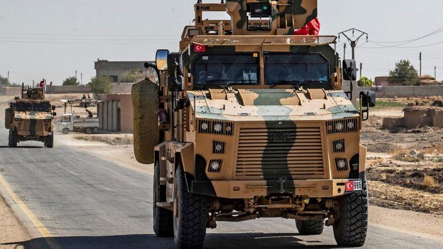 Turkish military vehicles