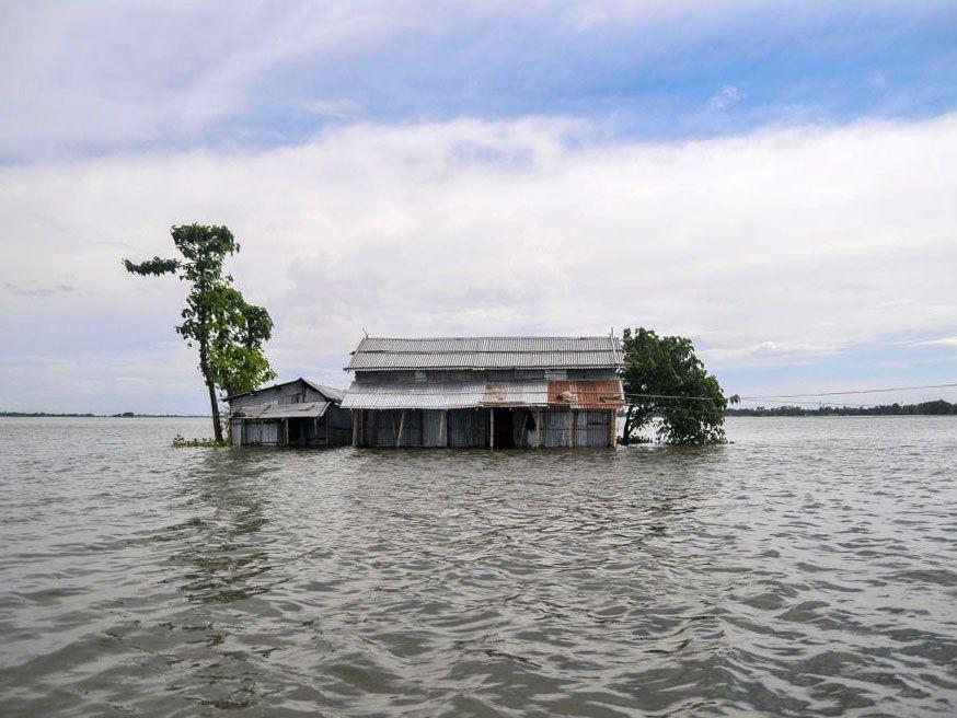 Flooding, Sylhet, Bangladesh