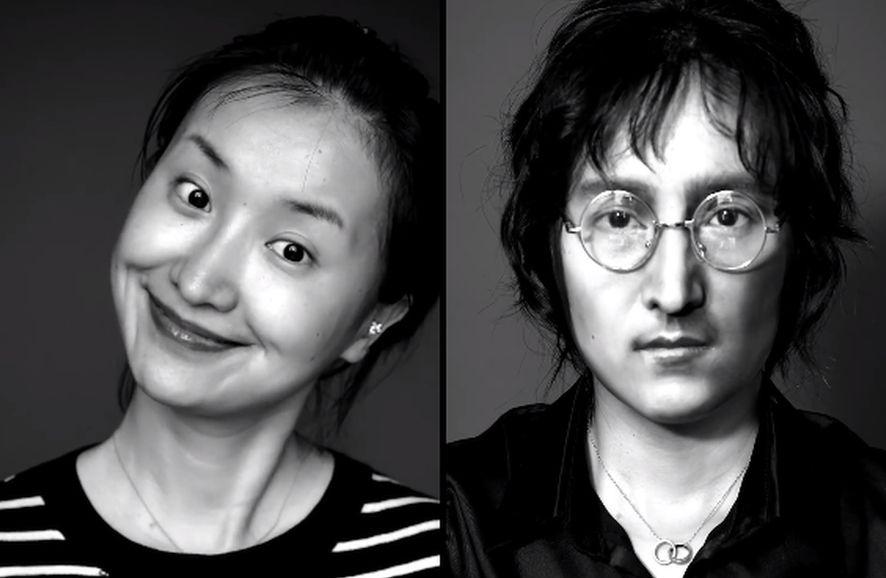 He Yuhong as John Lennon