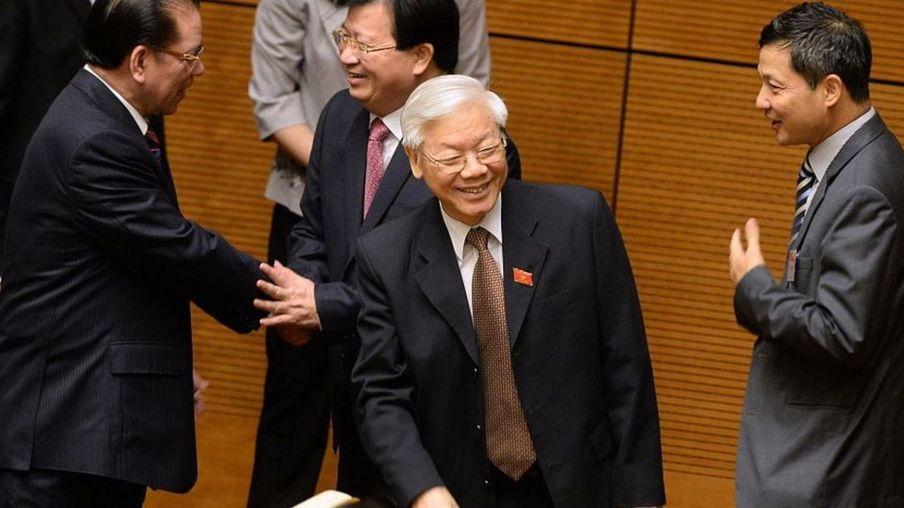 Tổng Bí thư Nguyễn Phú Trọng, ảnh năm 2016