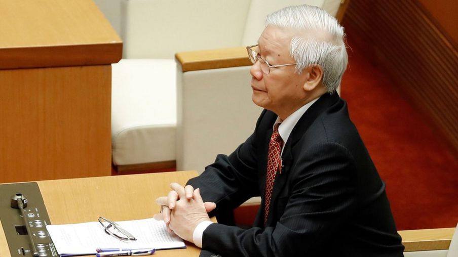 Chủ tịch nước Nguyễn Phú Trọng họp Quốc hội ngày 20/5