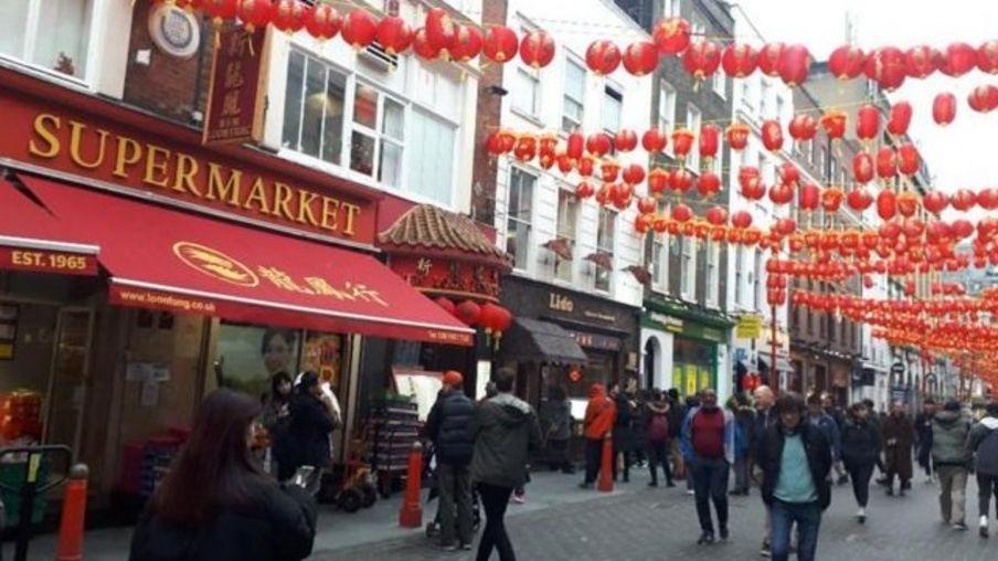 伦敦中国城