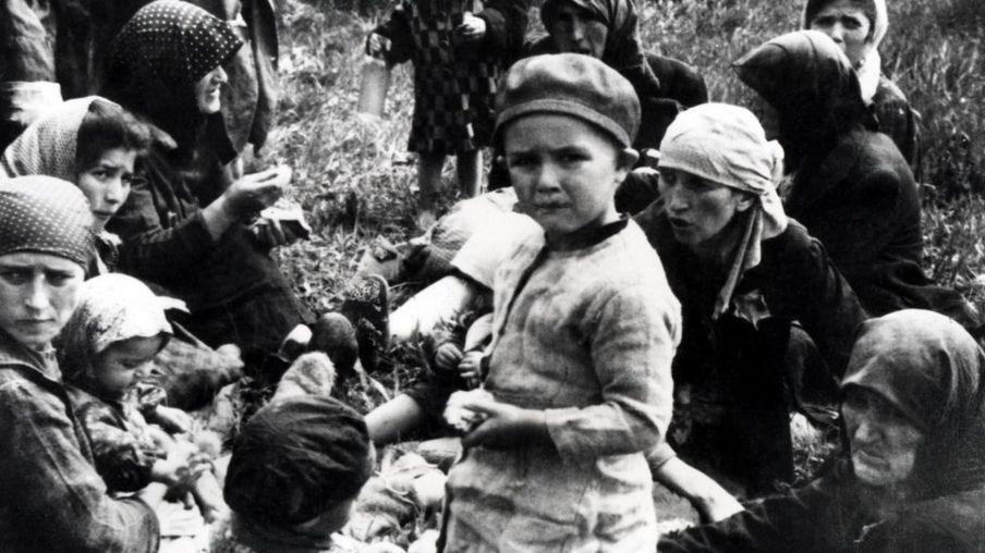 匈牙利犹太少女在奥斯威辛
