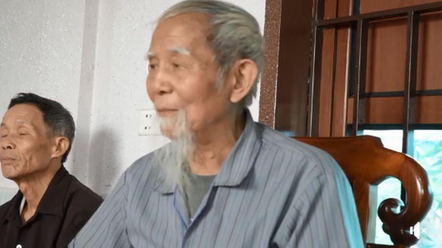 Ông Lê Đình Kình trong một buổi họp về đất đai với người dân Đồng Tâm năm 2019