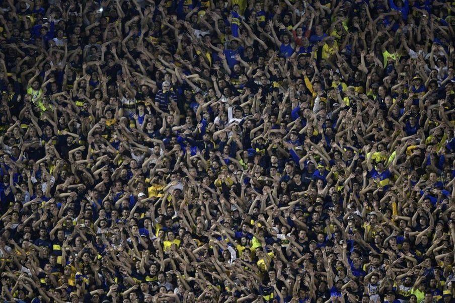 طرفداران تیم فوتبال بوکا جونیورز