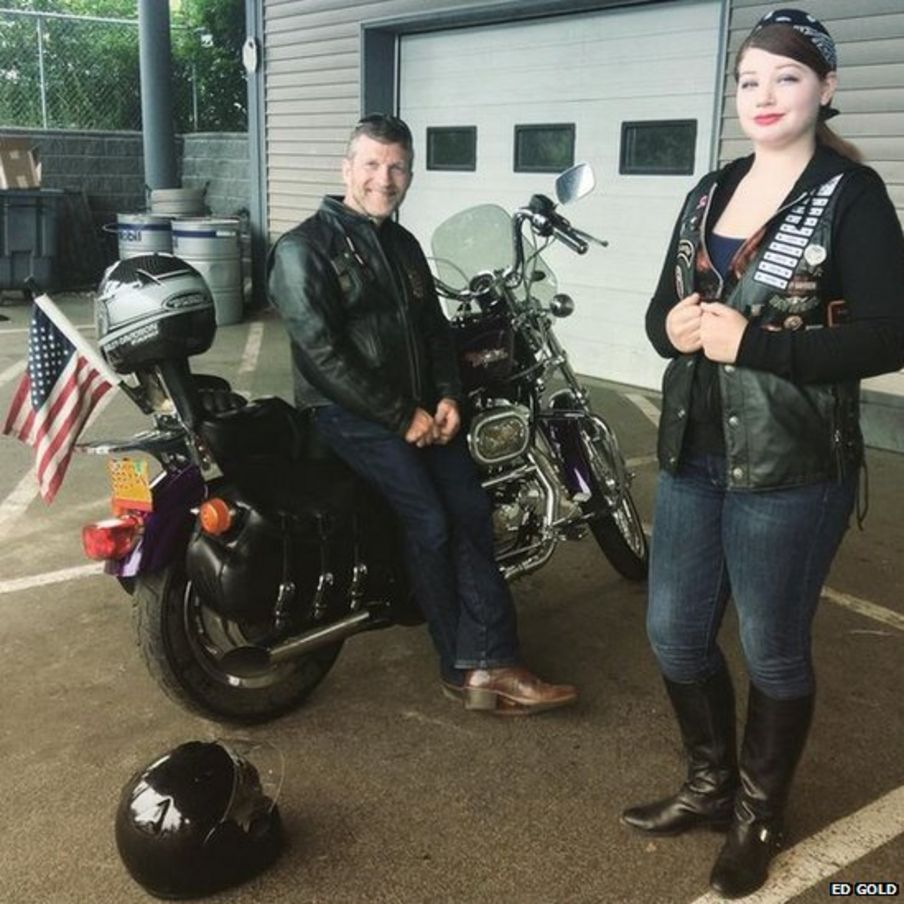 In pictures: Harley riders in the saddle