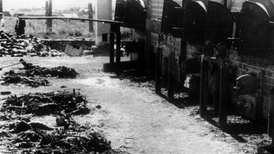在奥斯威辛集中营,通常将四到五个尸体一起送进焚尸炉火化。