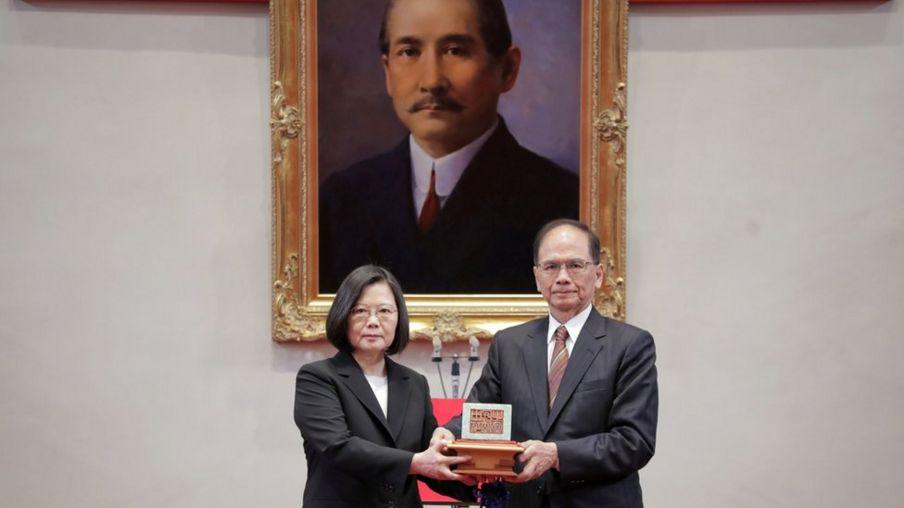 Bà Thái Anh Văn làm lễ nhậm chức ngày 20/5