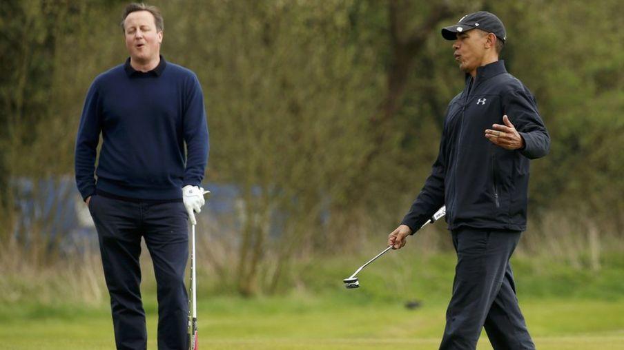 In pictures: US President Barack Obama in the UK