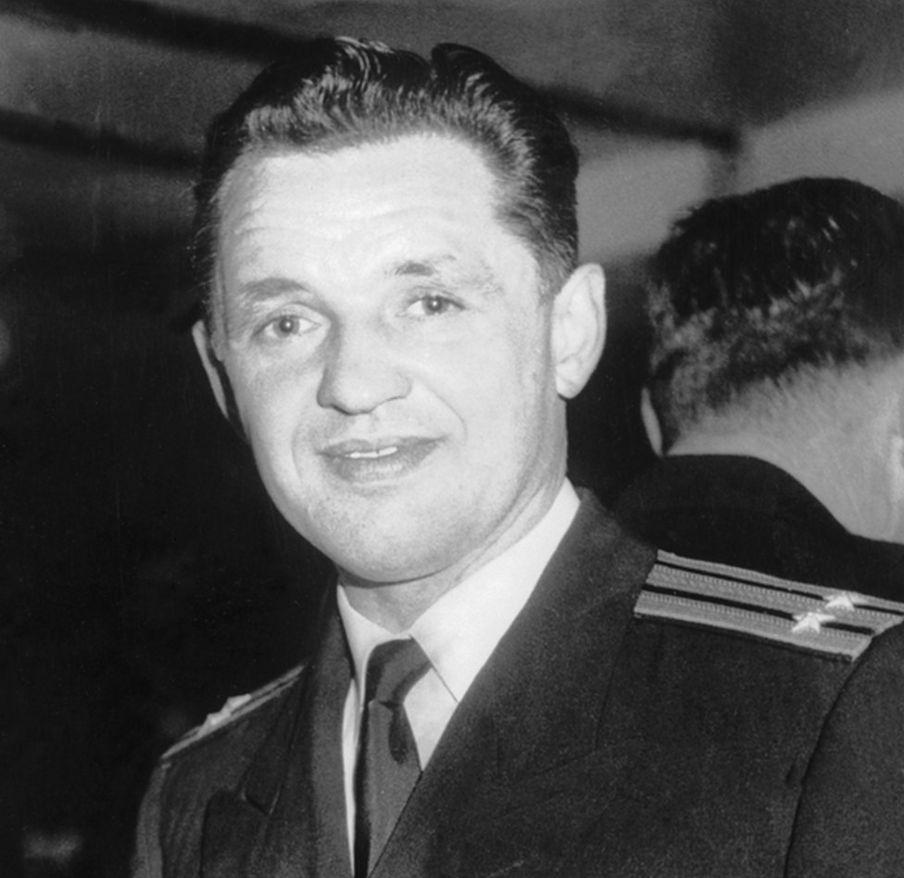 Евгений Иванов, помощник военно-морского атташе посольства СССР в Великобритании