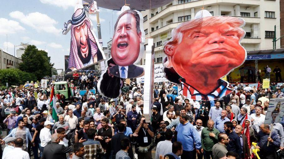 a parade marking al-Quds