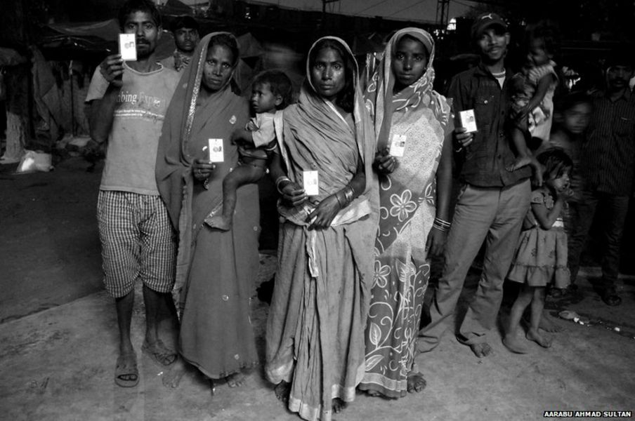 In pictures: Delhi's homeless get voting rights
