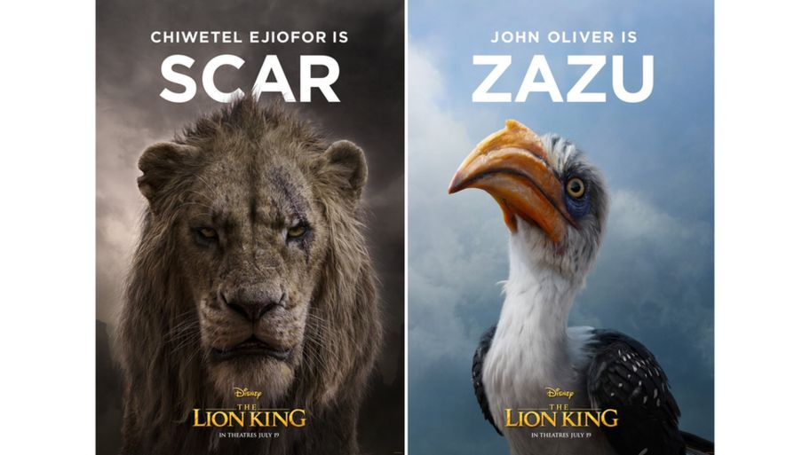 The Lion King Disney Reveal First Character Posters From