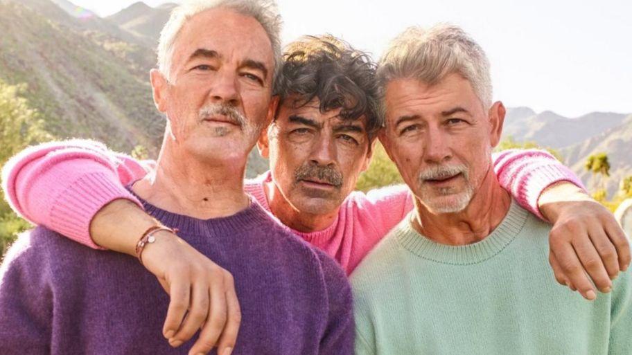 Jonas Brothers FaceApp age challenge