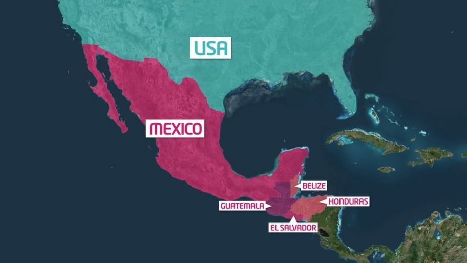 Migrant caravan: Life in the camp on USA-Mexico border - CBBC Newsround