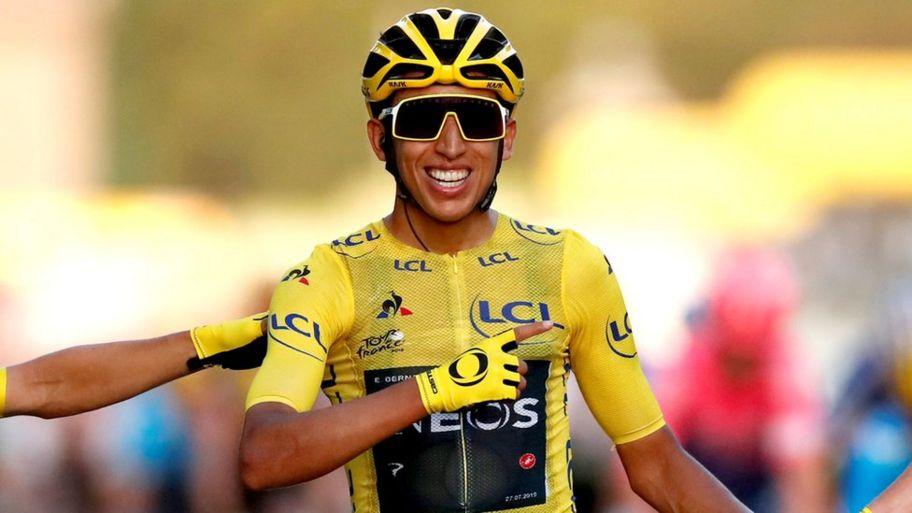 Tour de France: Egan Bernal be...