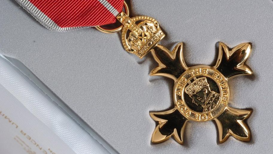 What's the difference between OBE, MBE and CBE? - CBBC Newsround