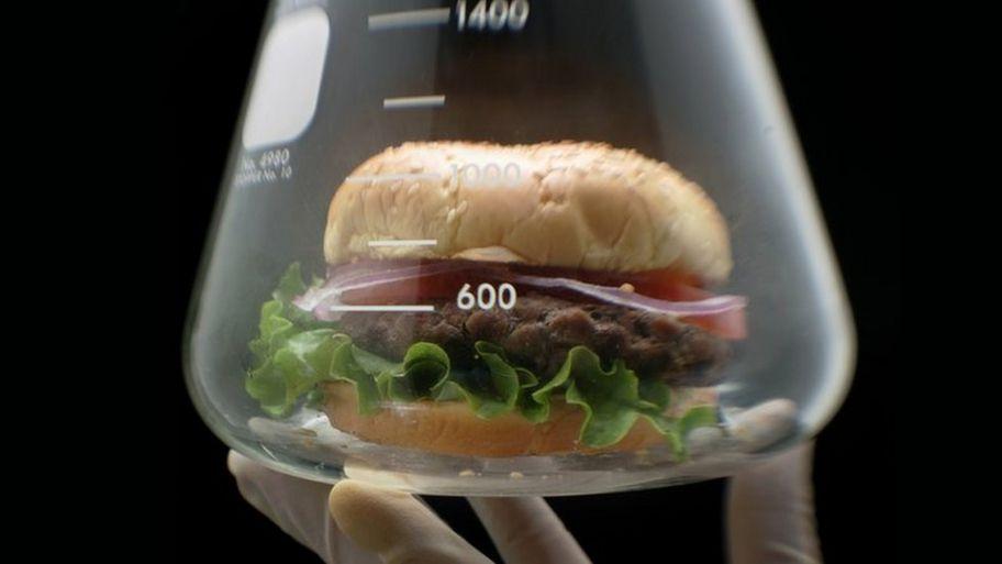 Гамбургер без мяса