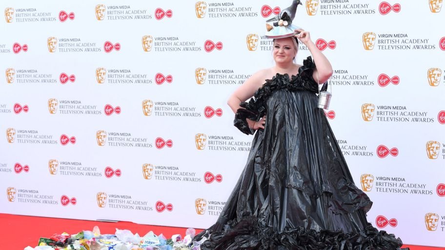 Baftas 2019 Daisy May Cooper wears a bin bag dress to the
