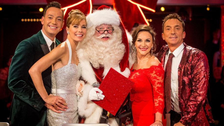 strictly judges on the christmas special in 2017 - Christmas Special