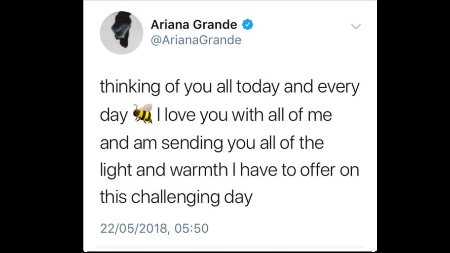 Manchester Attack Ariana Grande Thinking Of You All Cbbc Newsround