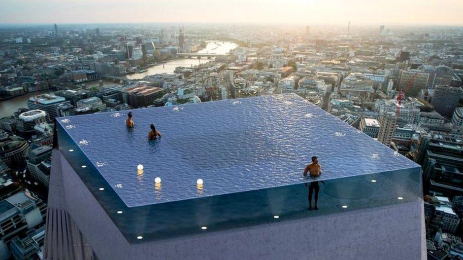 Amazing swimming pools around the world - CBBC Newsround