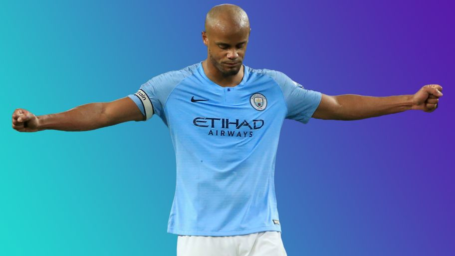 reputable site d6669 46355 Vincent Kompany: Five reasons why he's a Manchester City ...