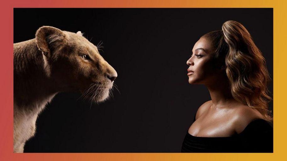 ad087de8b2abc The Lion King: Beyonce picture on Instagram excites fans - CBBC ...
