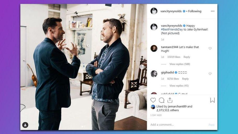 Ryan Reynolds' mum on Instagram has made everybody lol