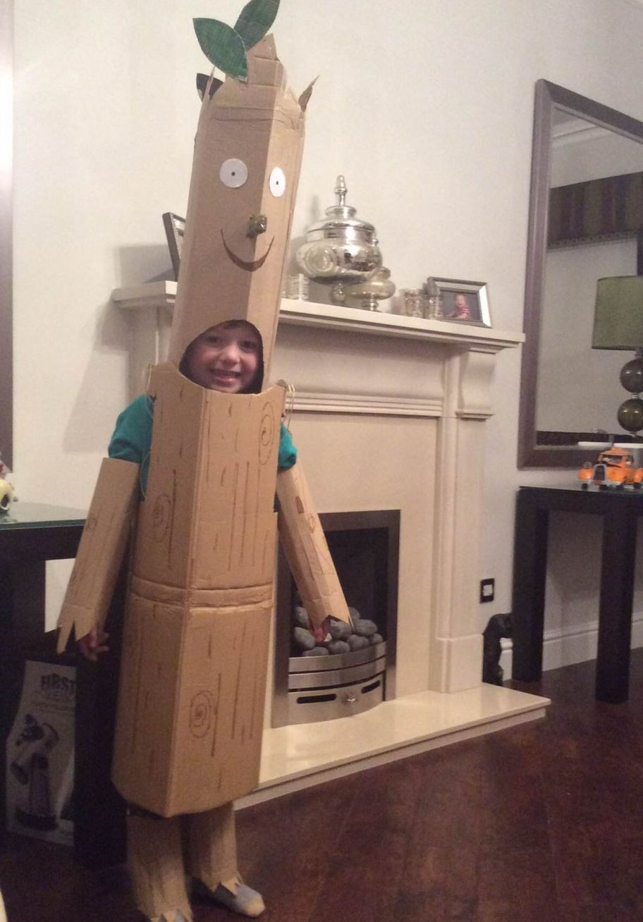 Mitchell From Larbert Is His Favourite Book Character The Stick Man