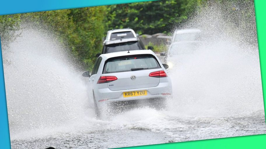 What Is A Weather Warning As Warnings Issued Across Uk Cbbc Newsround