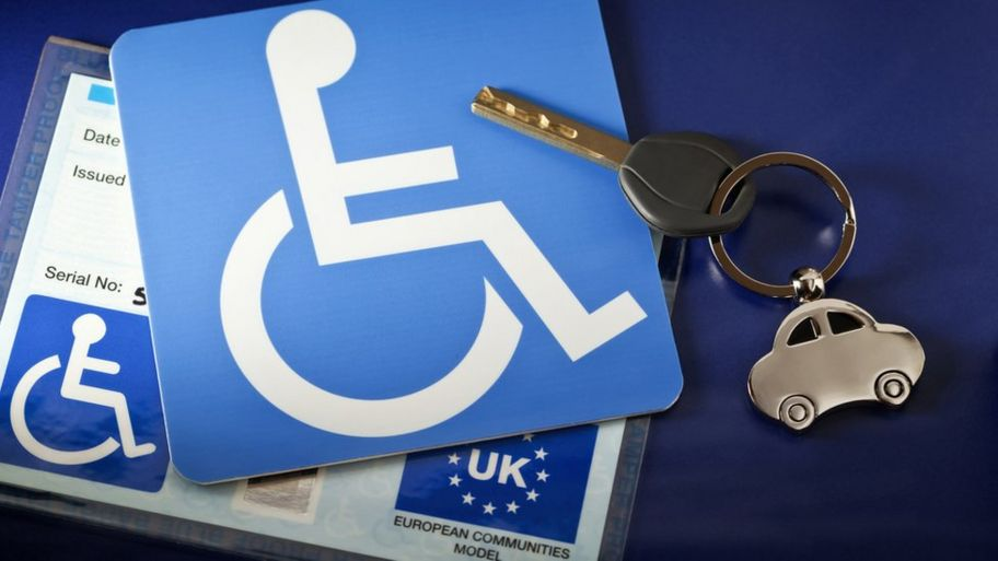 Blue badge: Parking scheme open to people with with invisible
