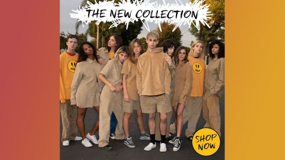 Justin Bieber Launches Beige And Mustard Fashion Range Drew House