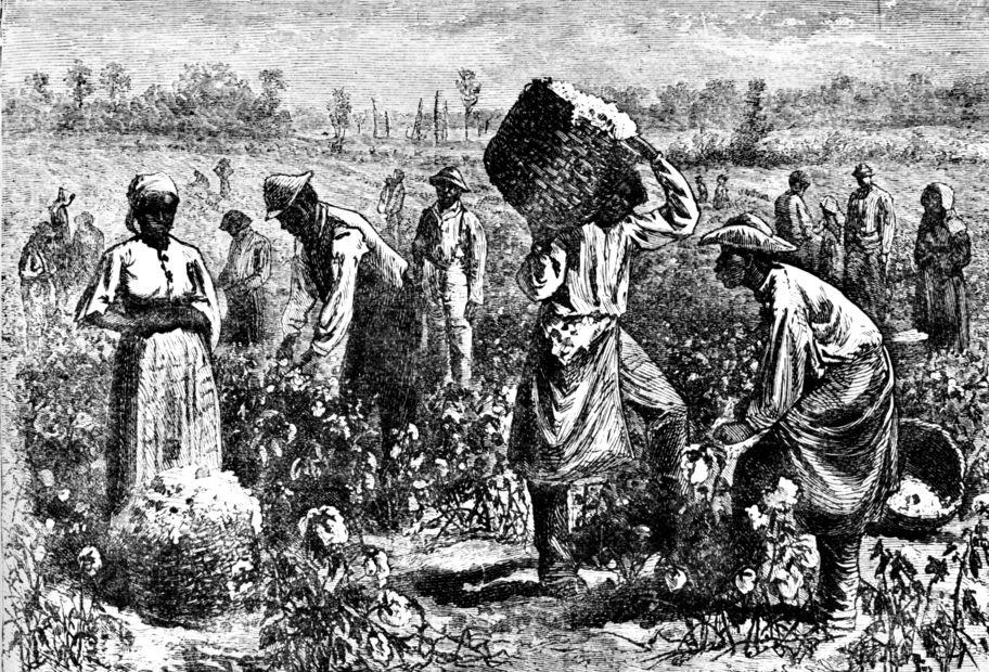 Theme Slavery white slave trade idea