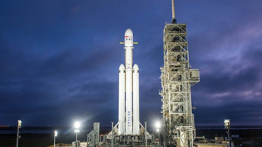 space x to launch rocket carrying a car to orbit mars cbbc newsround