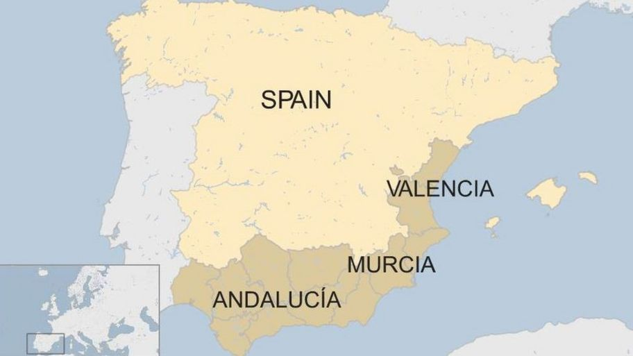 Major flooding hits Spain - CBBC Newsround