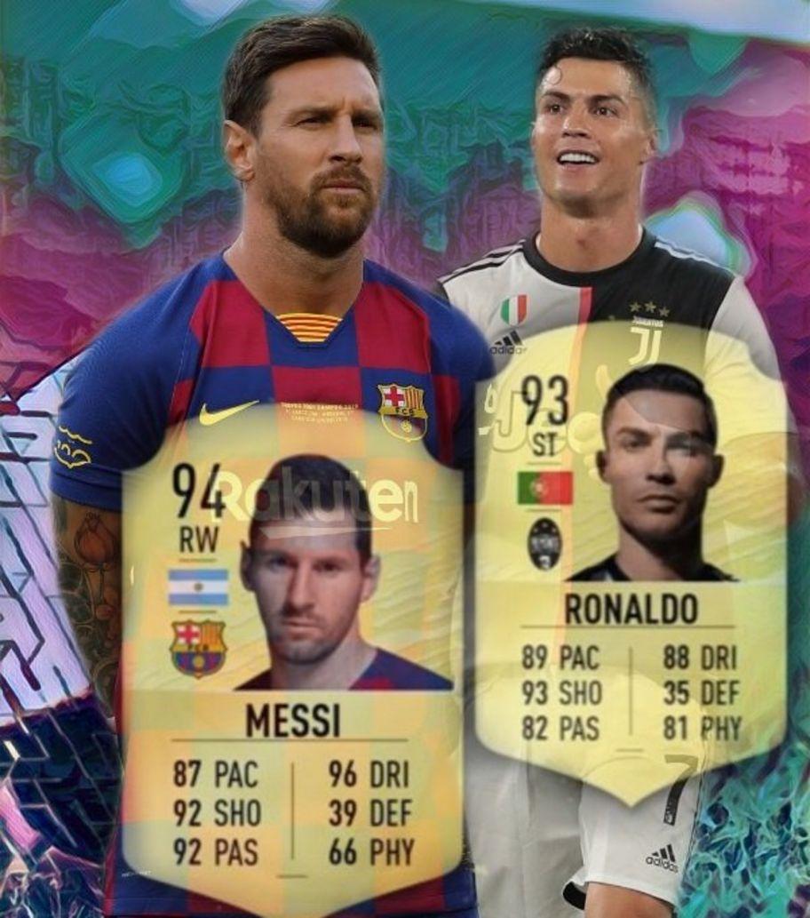 lowest price b2c7f 02e34 Fifa 20 player ratings: Messi better than Ronaldo - CBBC ...