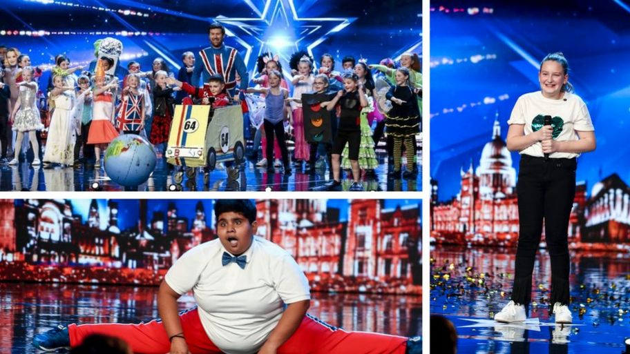BGT: The 'golden buzzer' kids taking over Britain's Got Talent