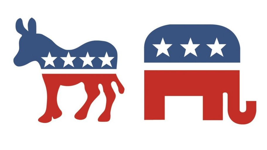 Image result for democrat and republican symbols