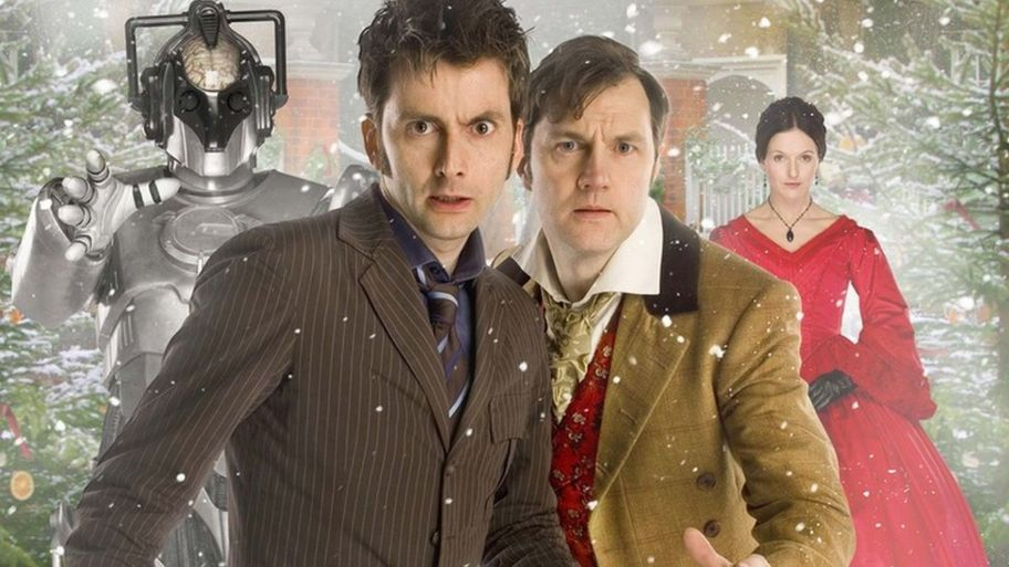 Doctor Who Christmas Specials.Doctor Who The Episodes From Christmas Past Cbbc Newsround