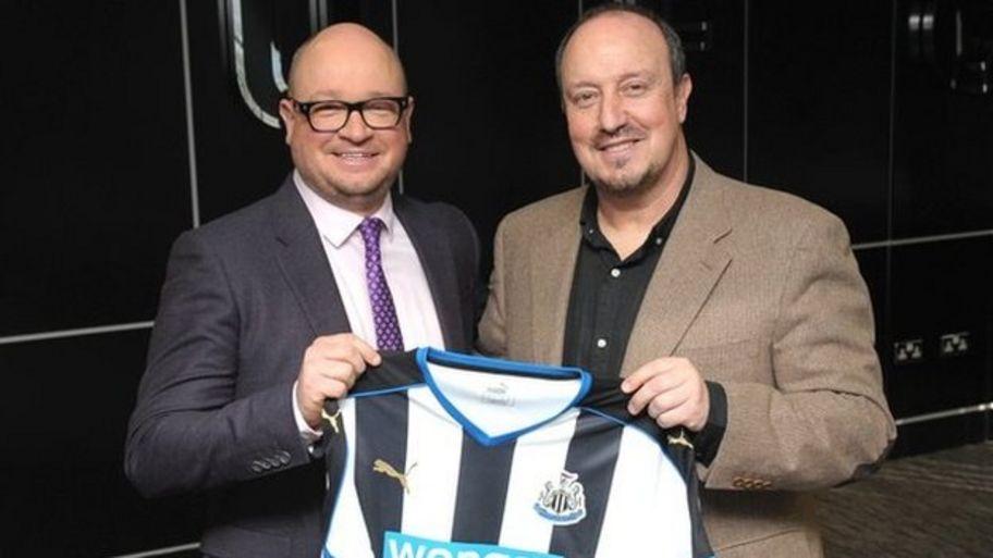 Newcastle announce Rafa Benitez as manager
