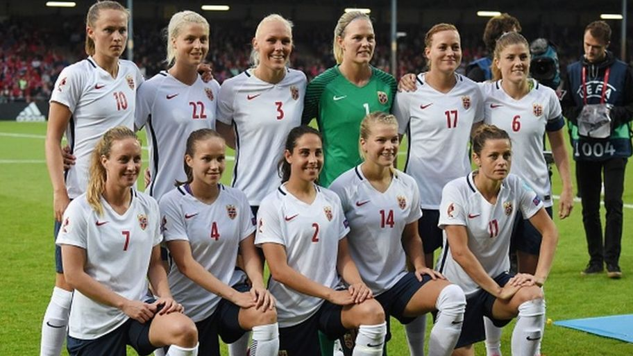 online retailer b099c c0659 Male and female footballers in Norway to get equal pay ...